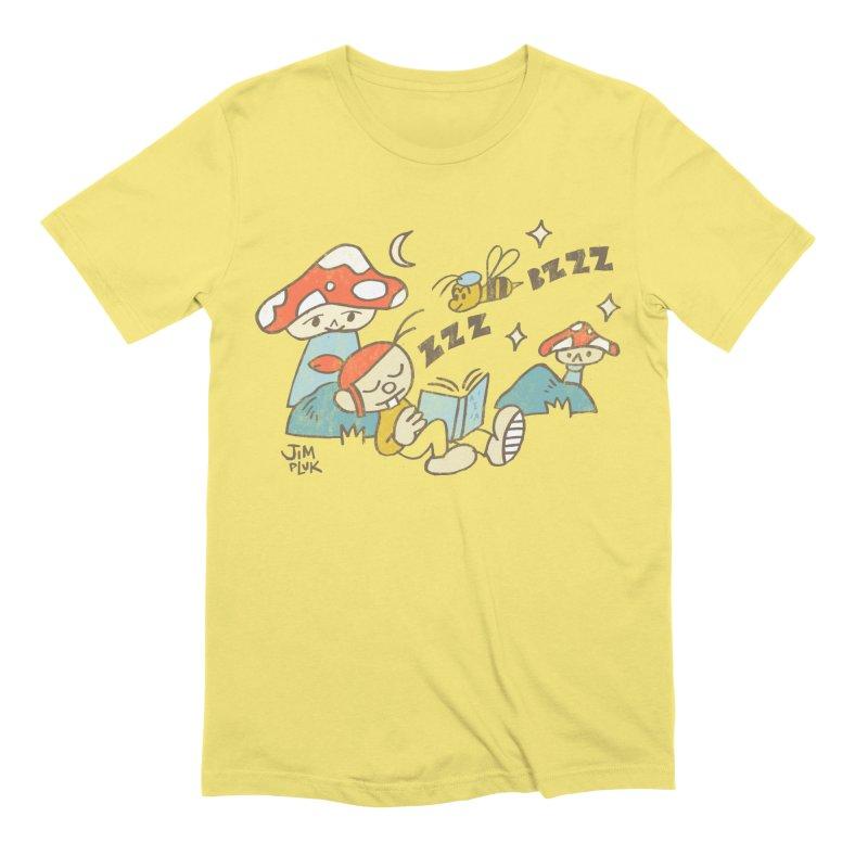 ¿Me llamaste? ( soft colors ) Men's T-Shirt by jimpluk's Artist Shop