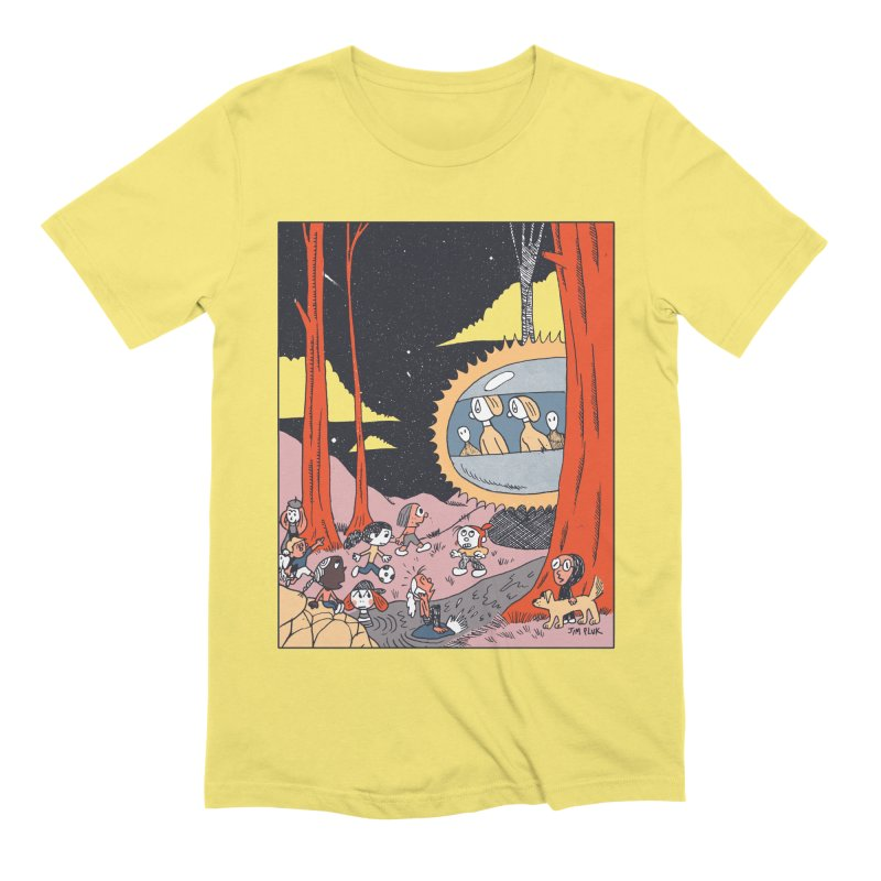 Contact Men's T-Shirt by jimpluk's Artist Shop