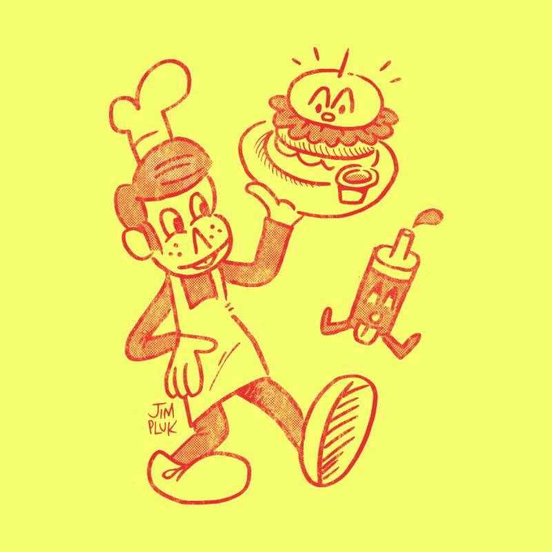 Burger Time ! Men's T-Shirt by jimpluk's Artist Shop