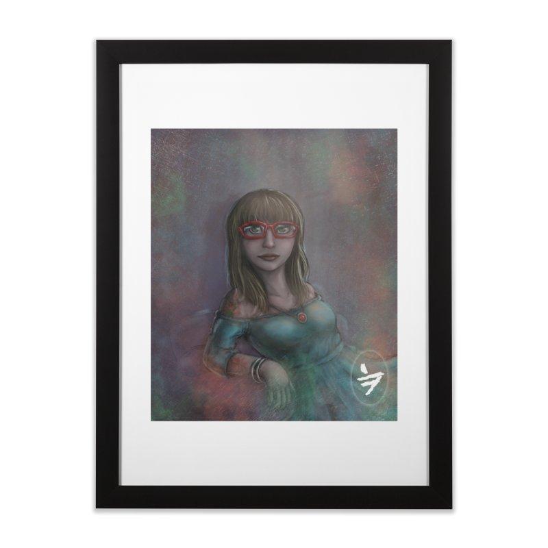 Psych Cloud Home Framed Fine Art Print by jinhound's Artist Shop