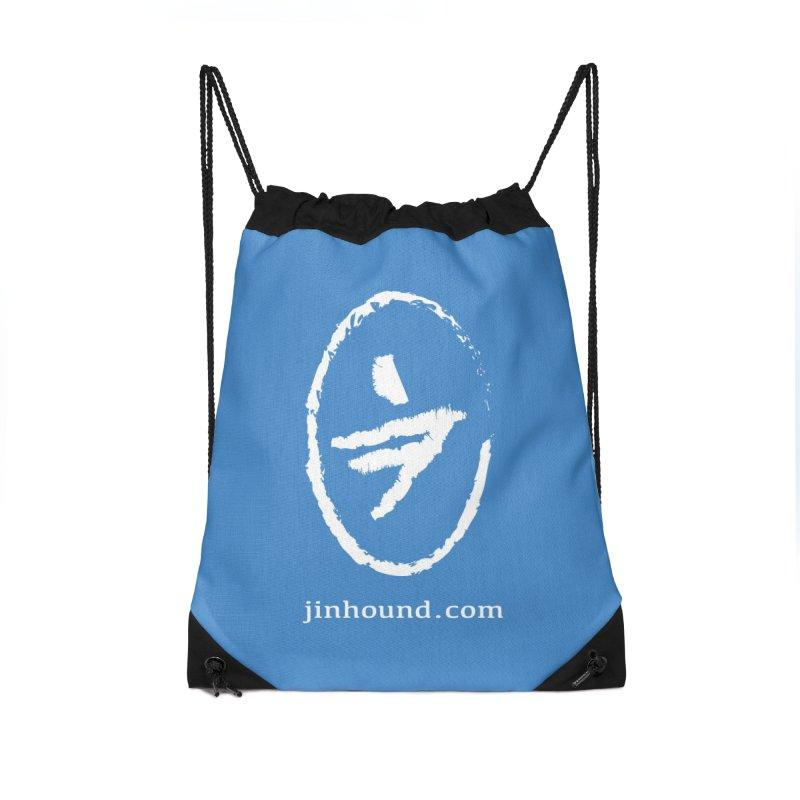 JINHOUND Accessories Drawstring Bag Bag by jinhound's Artist Shop