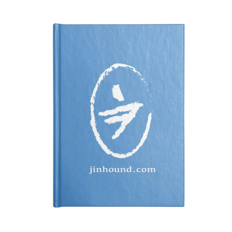 JINHOUND Accessories Blank Journal Notebook by jinhound's Artist Shop
