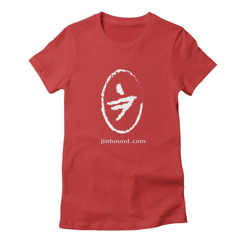 JINHOUND Women's Fitted T-Shirt by jinhound's Artist Shop