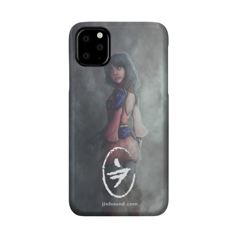 Girl in the mist Accessories Phone Case by jinhound's Artist Shop