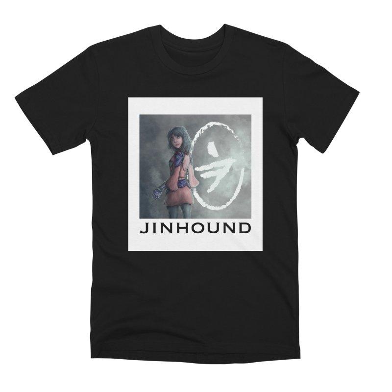 Girl in the mist Men's Premium T-Shirt by jinhound's Artist Shop