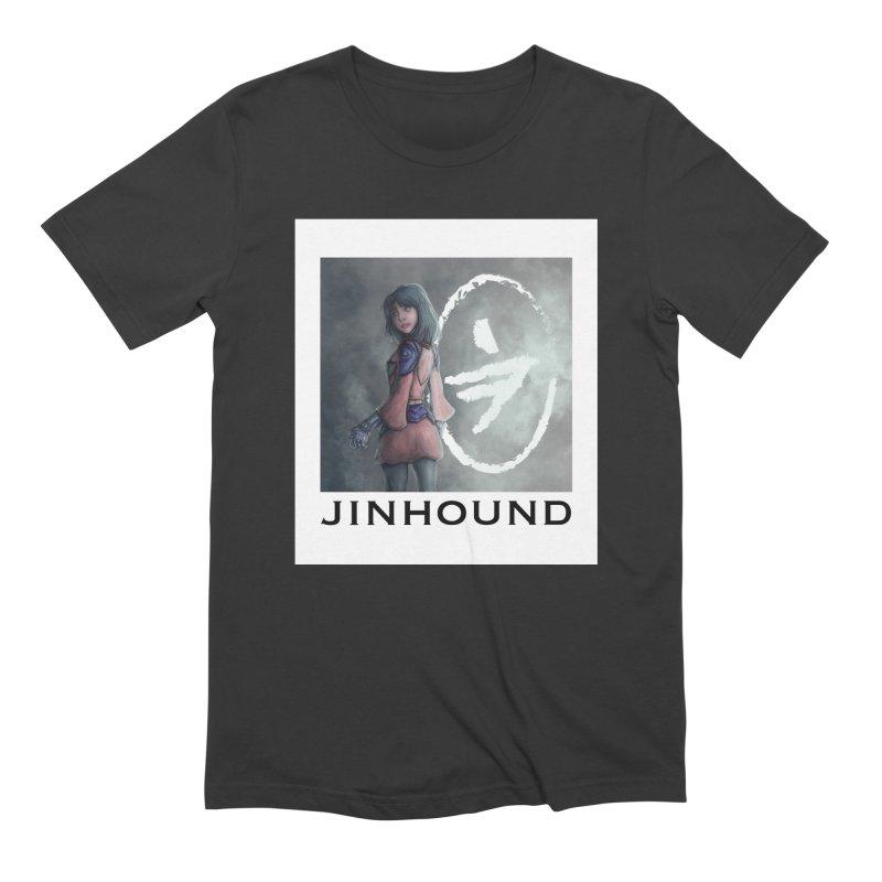 Girl in the mist Men's Extra Soft T-Shirt by jinhound's Artist Shop