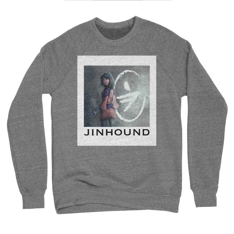 Girl in the mist Men's Sponge Fleece Sweatshirt by jinhound's Artist Shop