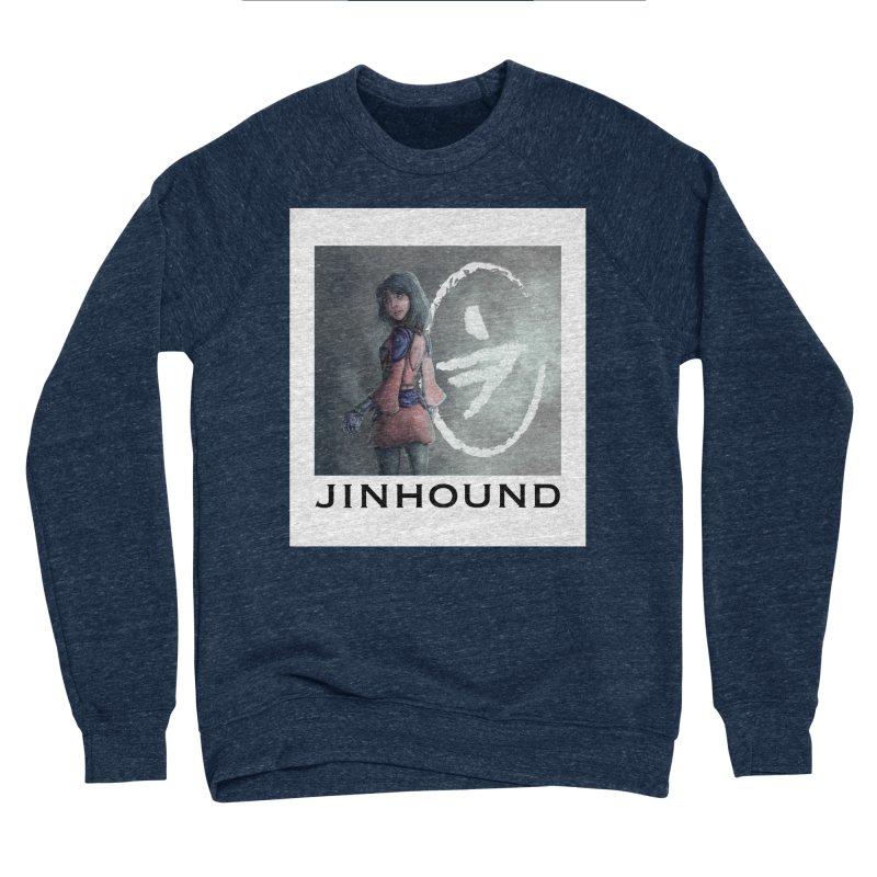 Girl in the mist Women's Sponge Fleece Sweatshirt by jinhound's Artist Shop