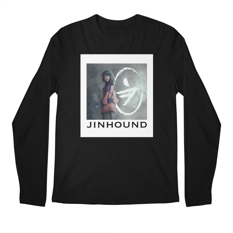 Girl in the mist Men's Regular Longsleeve T-Shirt by jinhound's Artist Shop