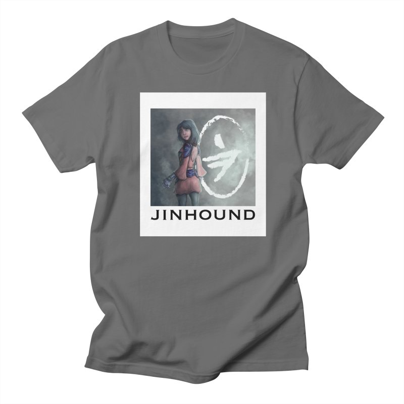 Girl in the mist Women's Regular Unisex T-Shirt by jinhound's Artist Shop