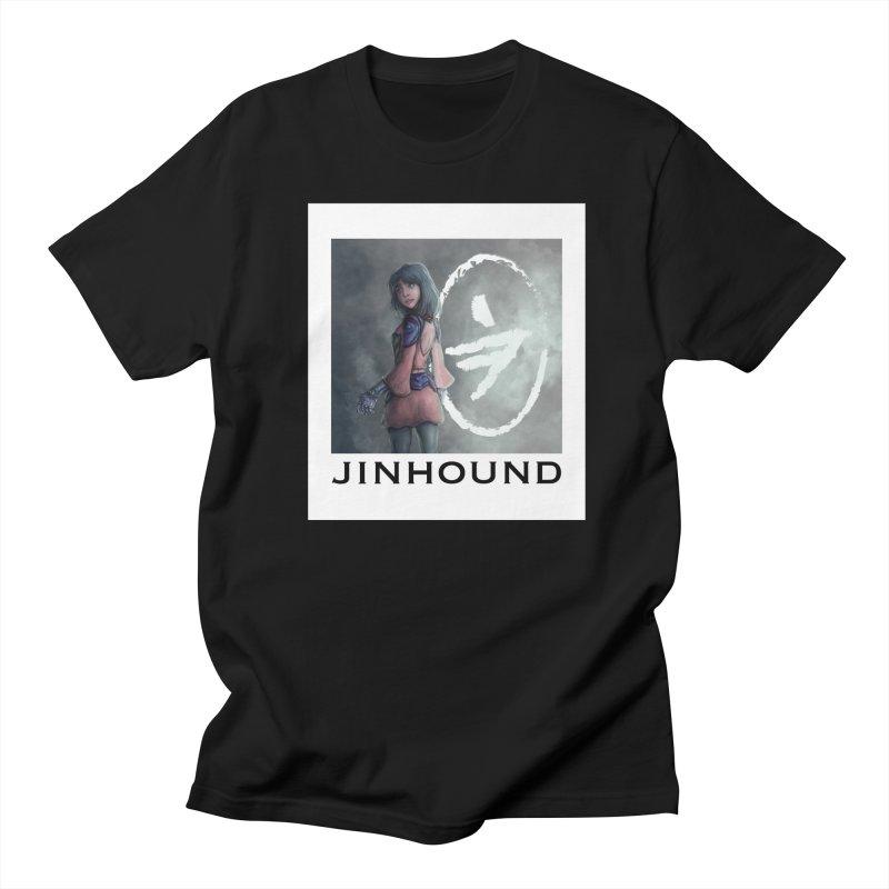 Girl in the mist Men's Regular T-Shirt by jinhound's Artist Shop