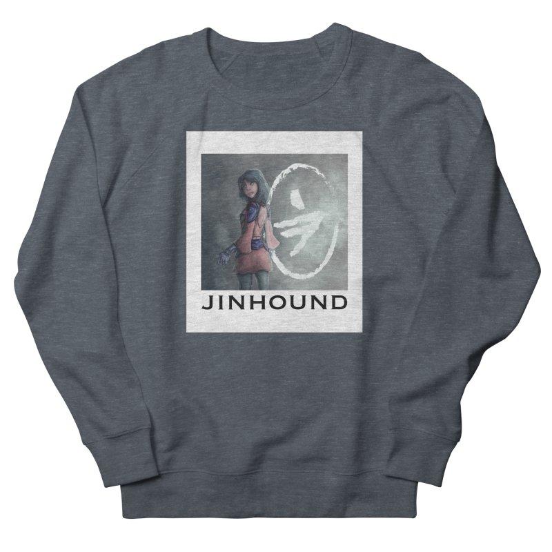 Girl in the mist Men's French Terry Sweatshirt by jinhound's Artist Shop