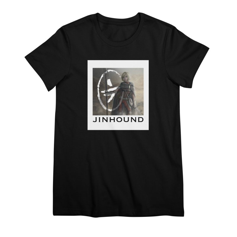 Mylene Women's Premium T-Shirt by jinhound's Artist Shop