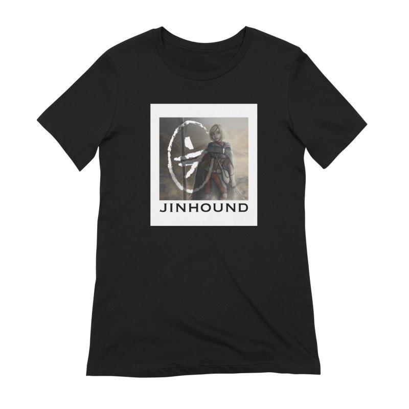 Mylene Women's Extra Soft T-Shirt by jinhound's Artist Shop