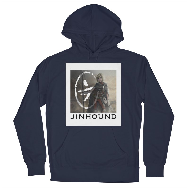 Mylene Men's French Terry Pullover Hoody by jinhound's Artist Shop