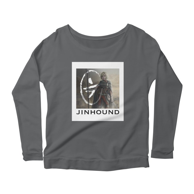 Mylene Women's Scoop Neck Longsleeve T-Shirt by jinhound's Artist Shop