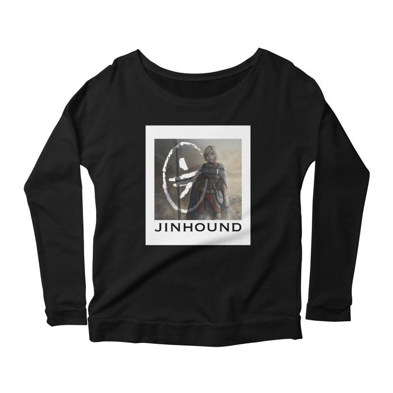 Mylene Women's Scoop Neck Longsleeve T-Shirt by jinhound's Artist Shop