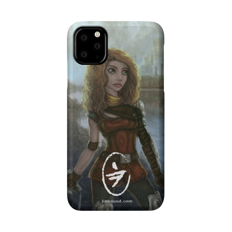 Warrior Accessories Phone Case by jinhound's Artist Shop