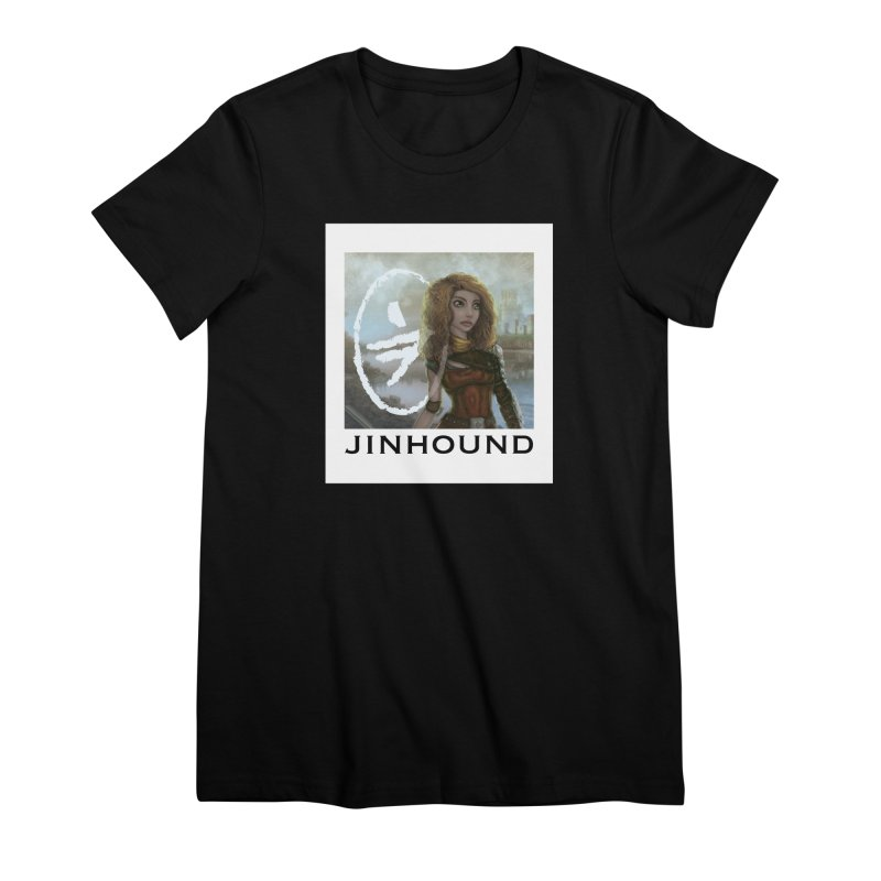 Warrior Women's Premium T-Shirt by jinhound's Artist Shop