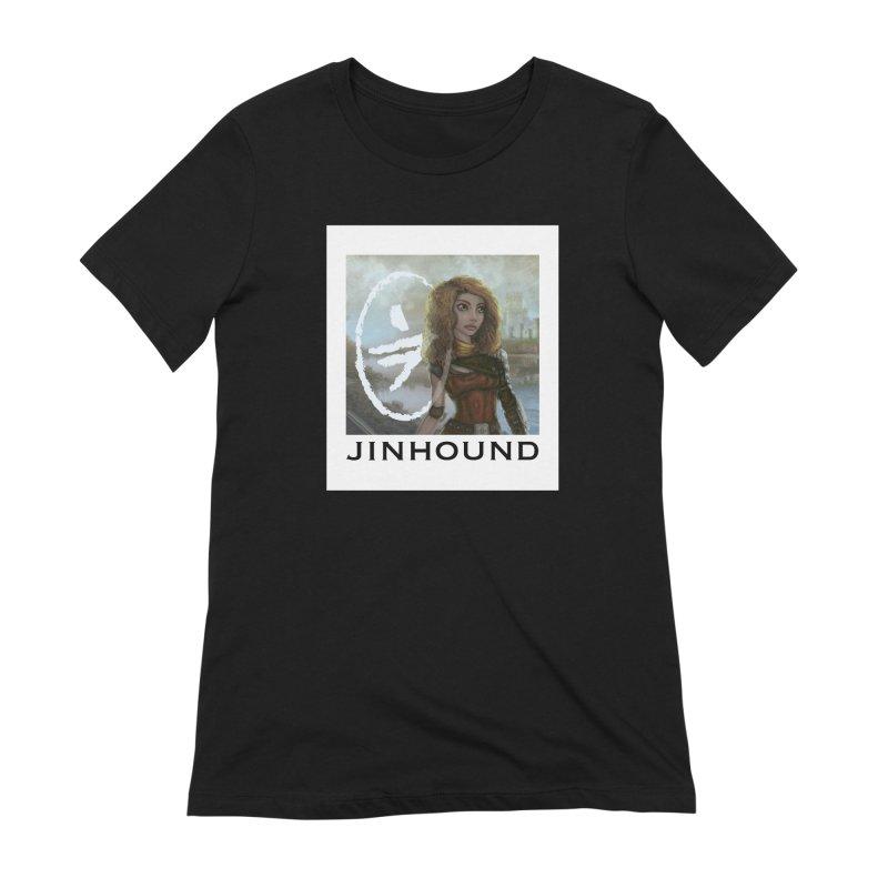 Warrior Women's Extra Soft T-Shirt by jinhound's Artist Shop