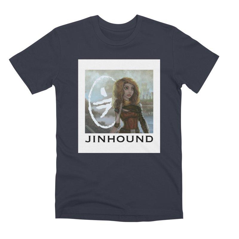 Warrior Men's Premium T-Shirt by jinhound's Artist Shop