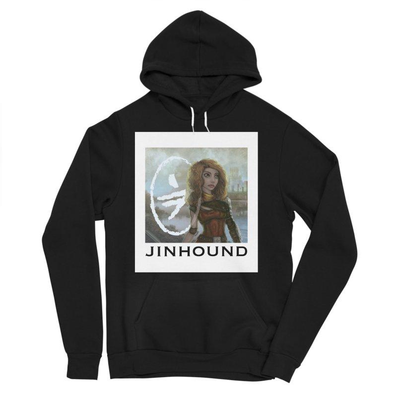 Warrior Women's Sponge Fleece Pullover Hoody by jinhound's Artist Shop