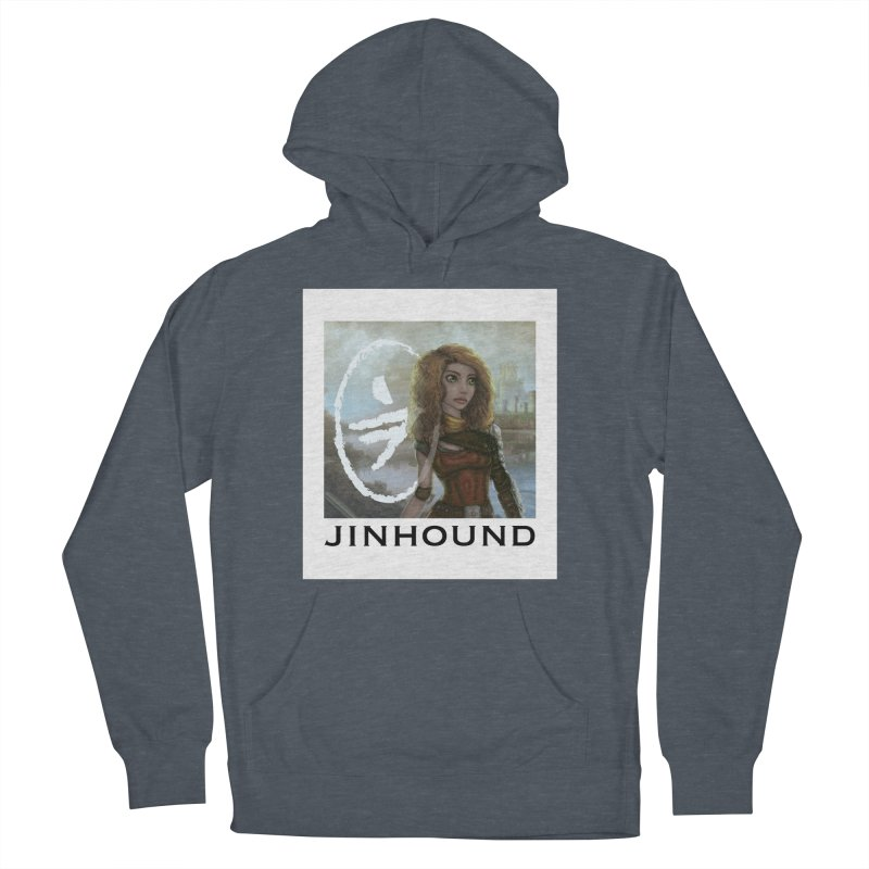 Warrior Men's French Terry Pullover Hoody by jinhound's Artist Shop