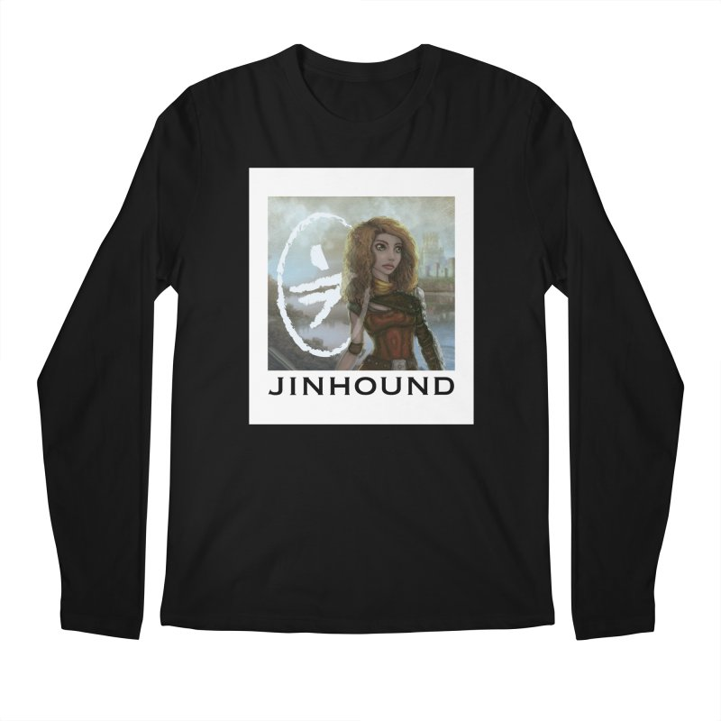 Warrior Men's Regular Longsleeve T-Shirt by jinhound's Artist Shop