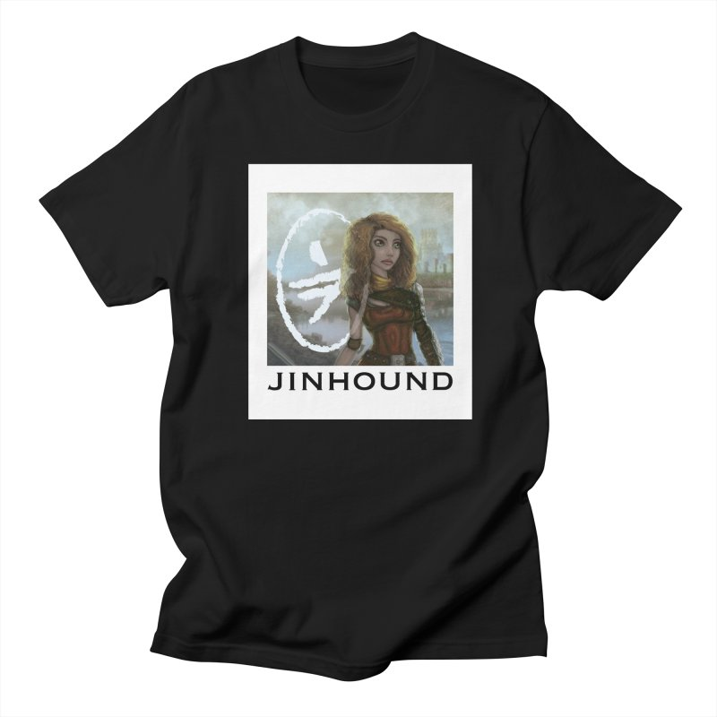 Warrior Men's Regular T-Shirt by jinhound's Artist Shop