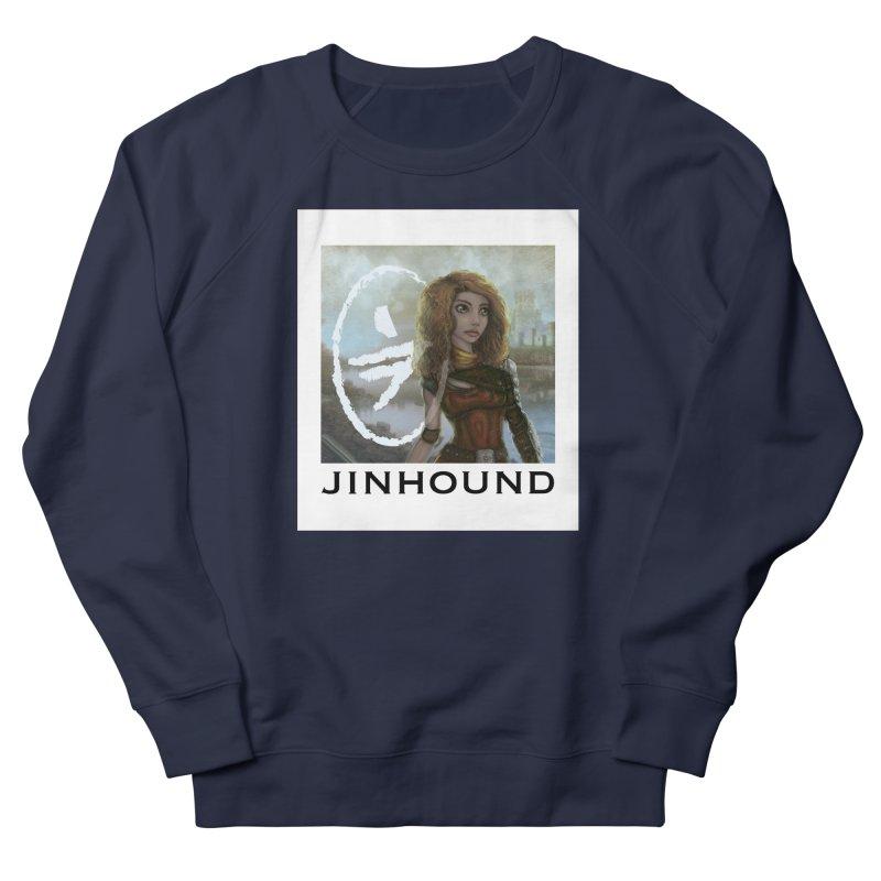 Warrior Men's French Terry Sweatshirt by jinhound's Artist Shop