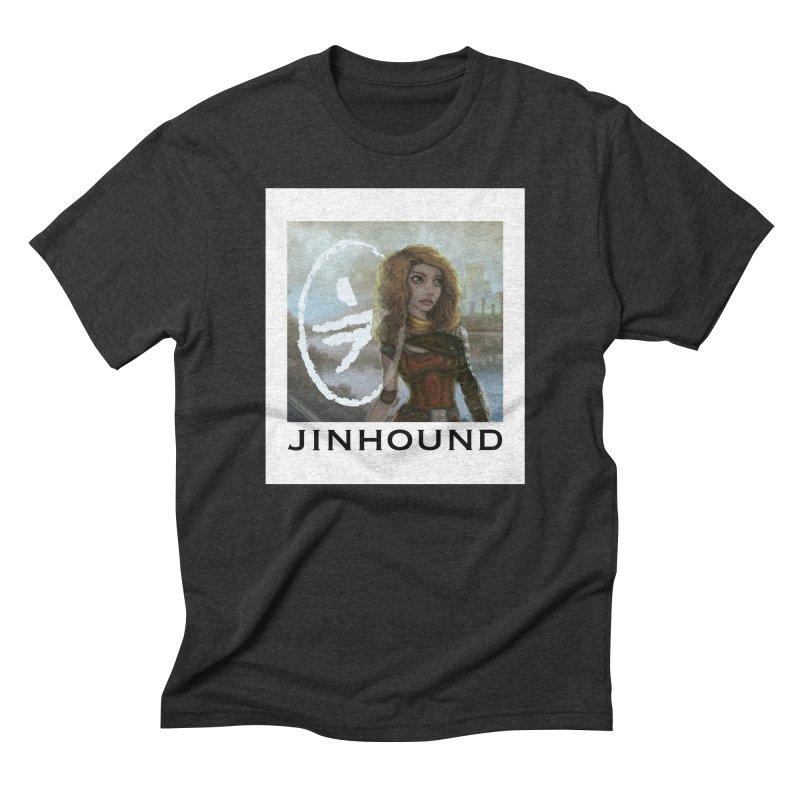 Warrior Men's Triblend T-Shirt by jinhound's Artist Shop