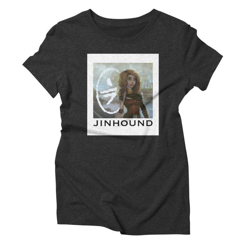 Warrior Women's Triblend T-Shirt by jinhound's Artist Shop