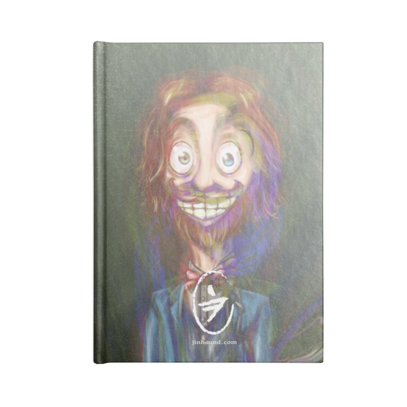 ...then it got weirder...(Oscar de Fraisanges 2) Accessories Blank Journal Notebook by jinhound's Artist Shop