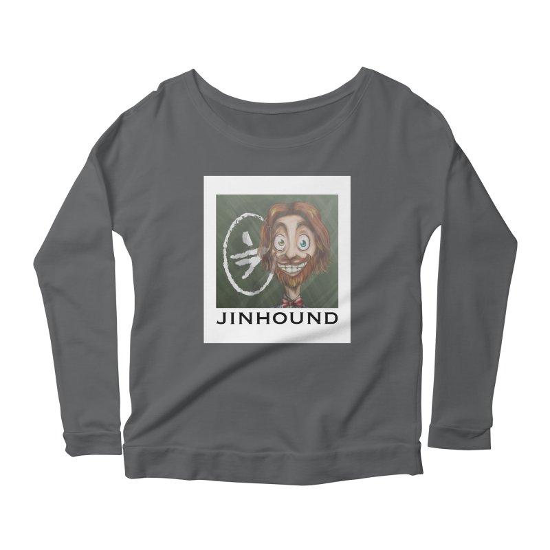 ...then it got weirder...(Oscar de Fraisanges 2) Women's Scoop Neck Longsleeve T-Shirt by jinhound's Artist Shop
