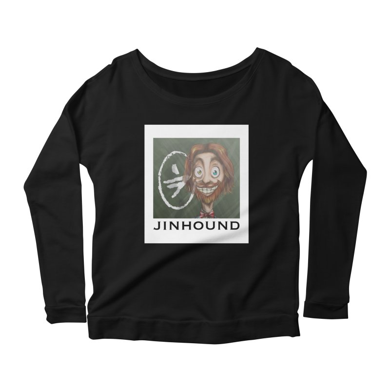 ...then it got weirder...(Oscar de Fraisanges 2) Women's Scoop Neck Longsleeve T-Shirt by jinhound's Artist Shop