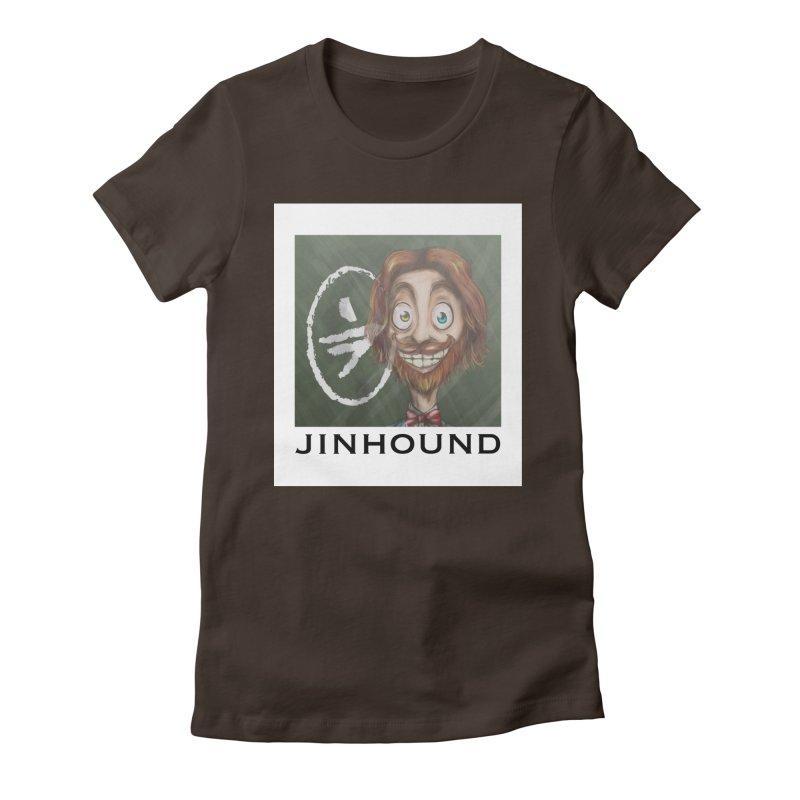 ...then it got weirder...(Oscar de Fraisanges 2) Women's Fitted T-Shirt by jinhound's Artist Shop