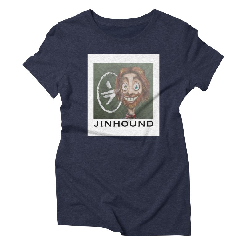 ...then it got weirder...(Oscar de Fraisanges 2) Women's Triblend T-Shirt by jinhound's Artist Shop