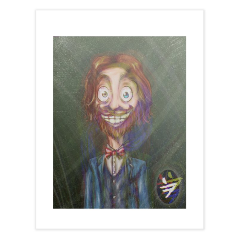 ...then it got weirder...(Oscar de Fraisanges 2) Home Fine Art Print by jinhound's Artist Shop