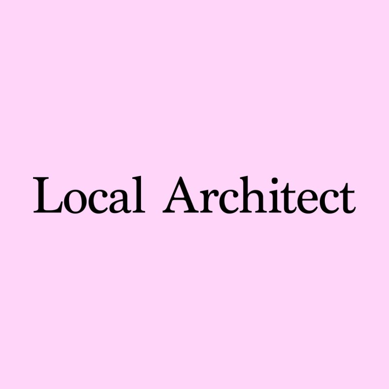 Local Architect Men's T-Shirt by jjqad's Artist Shop