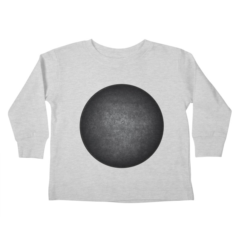 Solid Circle Kids Toddler Longsleeve T-Shirt by jjqad's Artist Shop