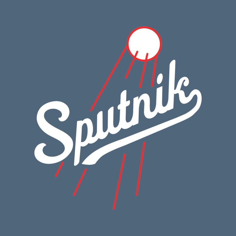 Sputnik - dark colors Women's Longsleeve T-Shirt by jjqad's Artist Shop