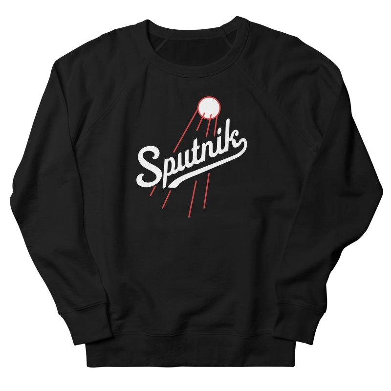 Sputnik - dark colors Women's French Terry Sweatshirt by jjqad's Artist Shop