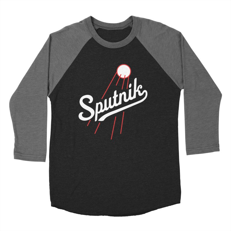 Sputnik - dark colors Men's Baseball Triblend Longsleeve T-Shirt by jjqad's Artist Shop