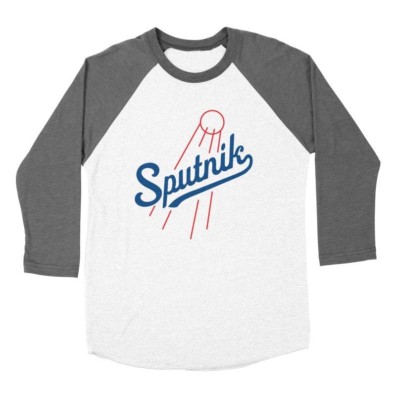 Sputnik - light colors Women's Longsleeve T-Shirt by jjqad's Artist Shop