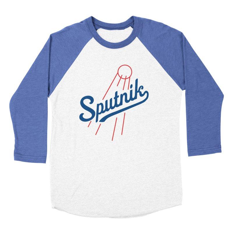 Sputnik - light colors Men's Baseball Triblend Longsleeve T-Shirt by jjqad's Artist Shop
