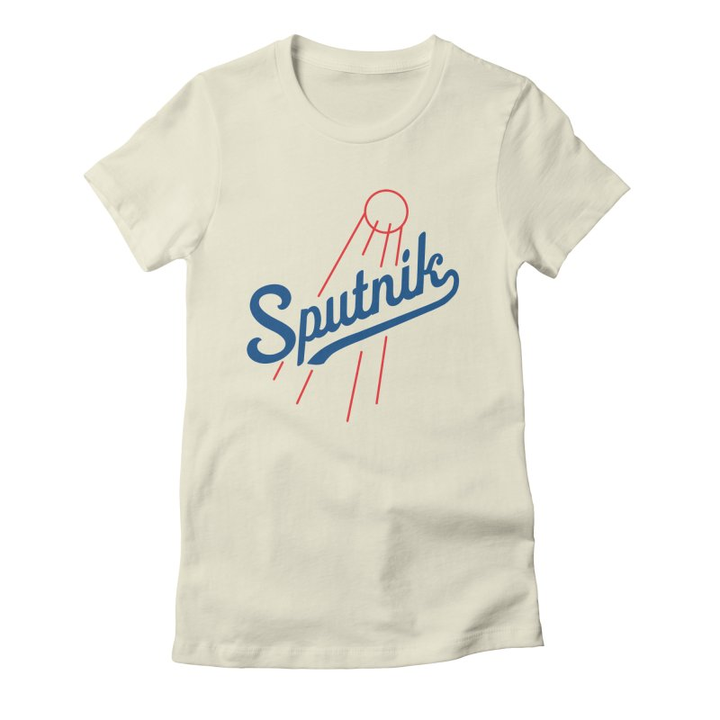 Sputnik - light colors Women's T-Shirt by jjqad's Artist Shop