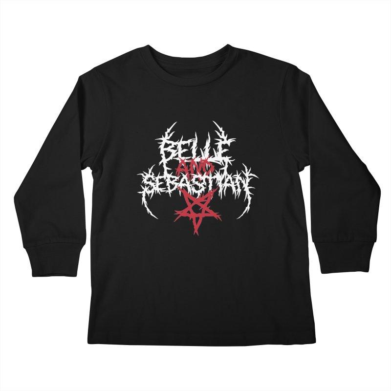 Glaswegian Death Metal Kids Longsleeve T-Shirt by jjqad's Artist Shop