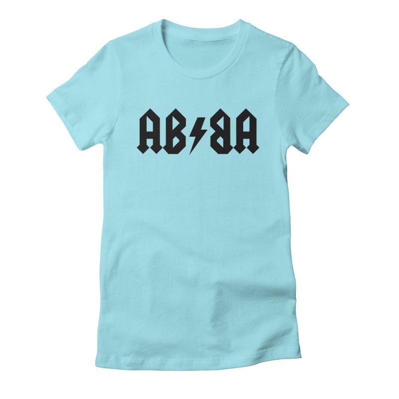 Swedish Metal Women's Fitted T-Shirt by jjqad's Artist Shop