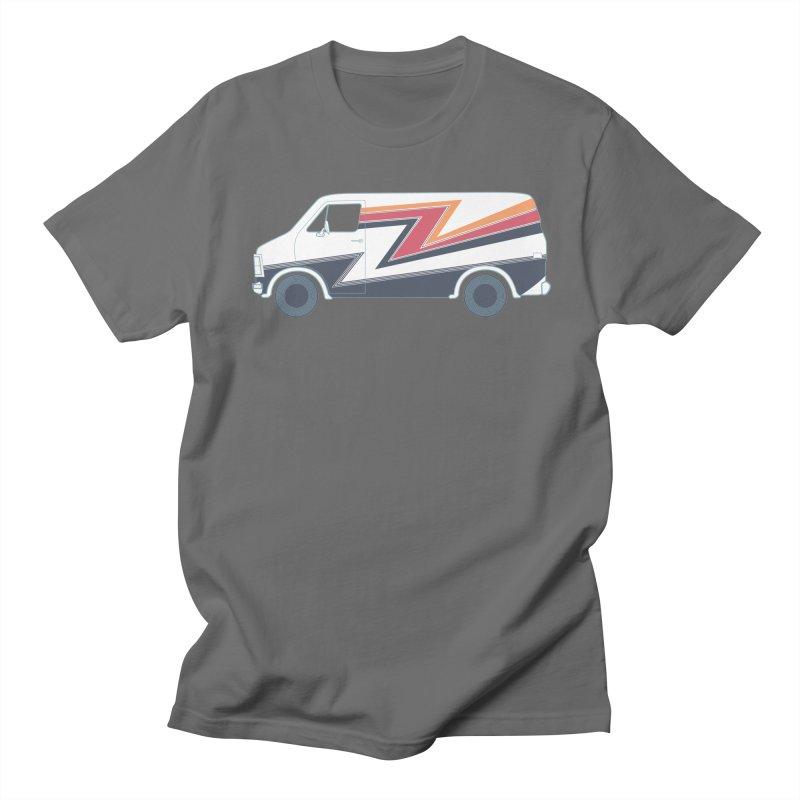 Bad Ass Van Men's Regular T-Shirt by jjqad's Artist Shop