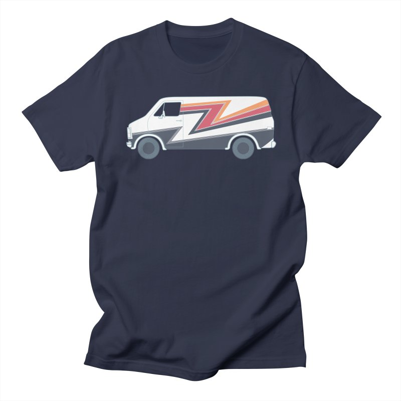 Bad Ass Van in Men's Regular T-Shirt Navy by jjqad's Artist Shop